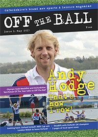 Off The Ball issue 1 cover