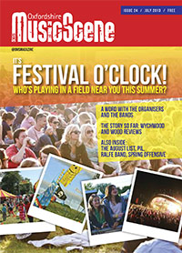 Oxfordshire Music Scene issue 24 cover