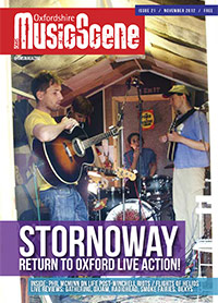 Oxfordshire Music Scene issue 21 cover