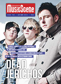 Oxfordshire Music Scene issue 10 cover