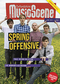 Oxfordshire Music Scene issue 14 cover